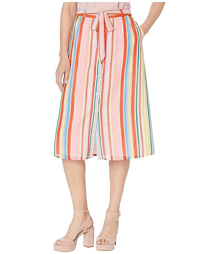 Jack by BB Dakota Color Me Softly Skirt (Powder Pink) Women