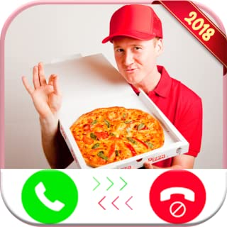 Instant Real live Fake Call From Delivery Pizza 2 - Free Fake Phone Call ID PRO 2018 - PRANK FOR KIDS!