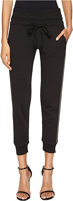 The Kooples - Trousers with Jewelled Stripes On The Sides