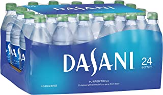 DASANI Purified Water Bottles Enhanced with Minerals, 16.9 fl oz, 24 Pack