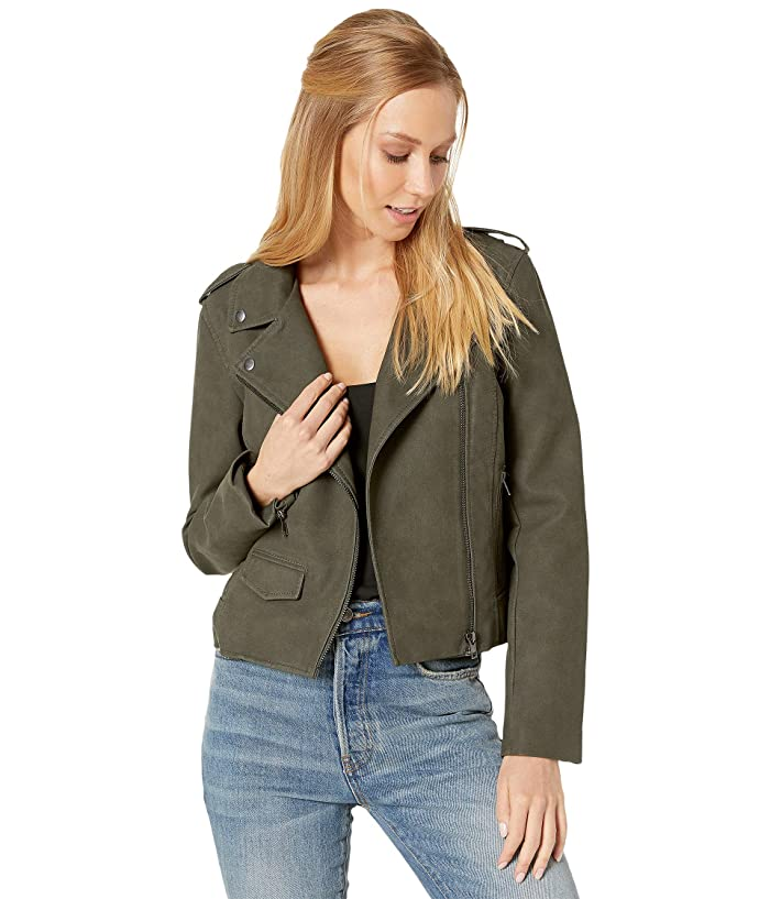 BB Dakota  Aint It Cool Jacket (Green Moss) Womens Clothing