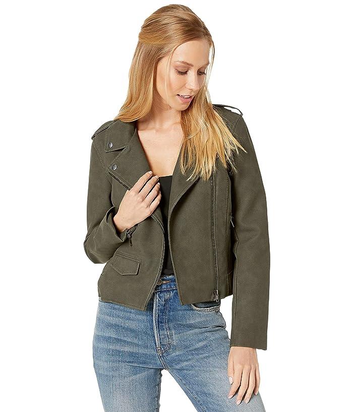 BB Dakota  Aint It Cool Jacket (Green Moss) Womens Clothing