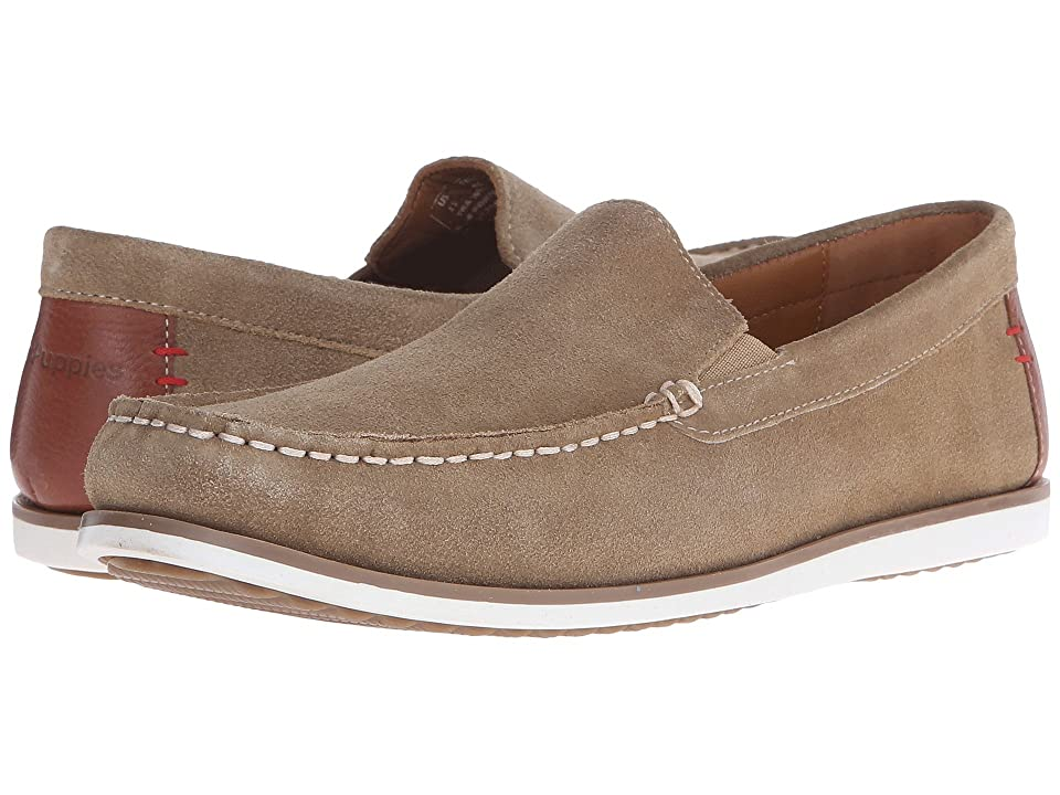 Hush Puppies Bob Portland (Taupe Suede) Men