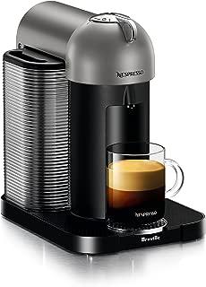Breville BNV220TTN1BUC1 Vertuo Coffee and Espresso Machine, Titan