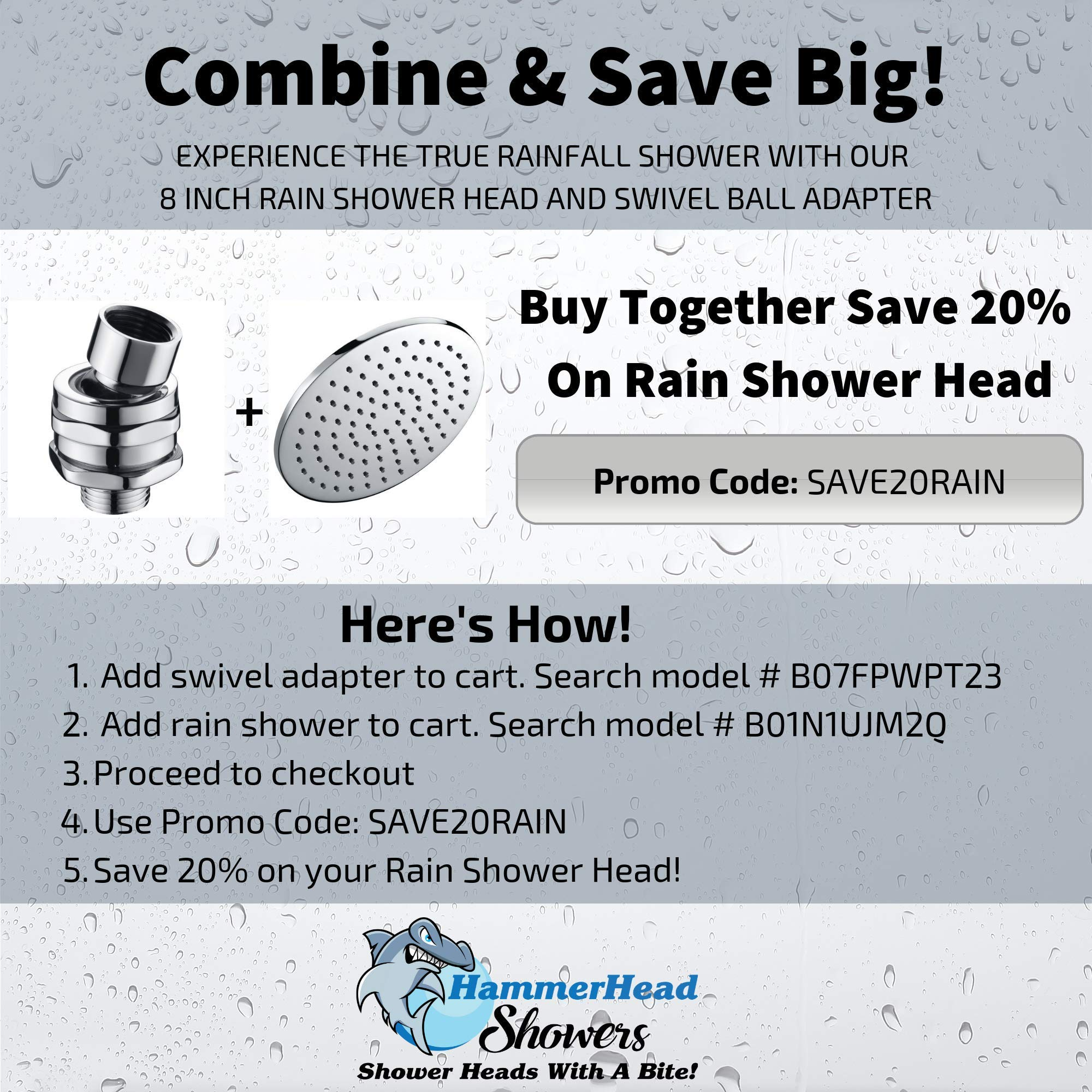 100 Metal Shower Head Swivel Ball Adapter Adjustable Pivot Ball To Adjust Showerhead Angle Universal Connector Joint Fits Fixed Hand Held Rain Shower Heads Chrome Amazon Sg Home Improvement