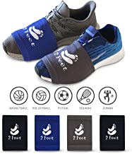 2 FEET Sock for Dancing on Smooth Floors   Over Sneakers, Smooth Pivots & Turns to Dance with Style on Wood Floors   Protect Knees   4 Pairs (Dark Blue, Dark Grey, Black, Black) for Men and Woman