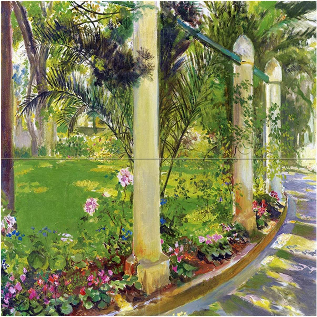 Tile 70% OFF Outlet Mural The Path of by Rochegrosse Palm Max 48% OFF Noria Georges-Antoine