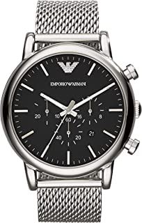Emporio Armani Men's Chronograph Dress Watch With Quartz Movement