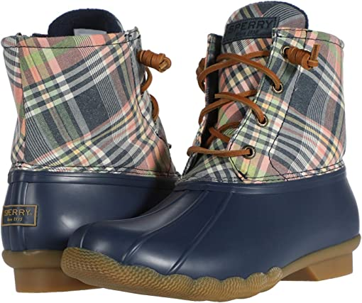 Navy/Kick Back Plaid