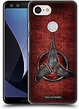 Official Star Trek Empire Klingon Badges Hard Back Case Compatible for Google Pixel 3
