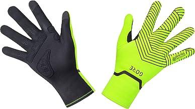 Gore C3 Gore-Tex Infinium Mid Full Finger Gloves - 100520 (neon Yellow/Black - XL/9)