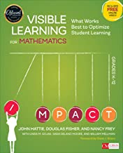 Visible Learning for Mathematics, Grades K-12: What Works Best to Optimize Student Learning (Corwin Mathematics Series) PDF