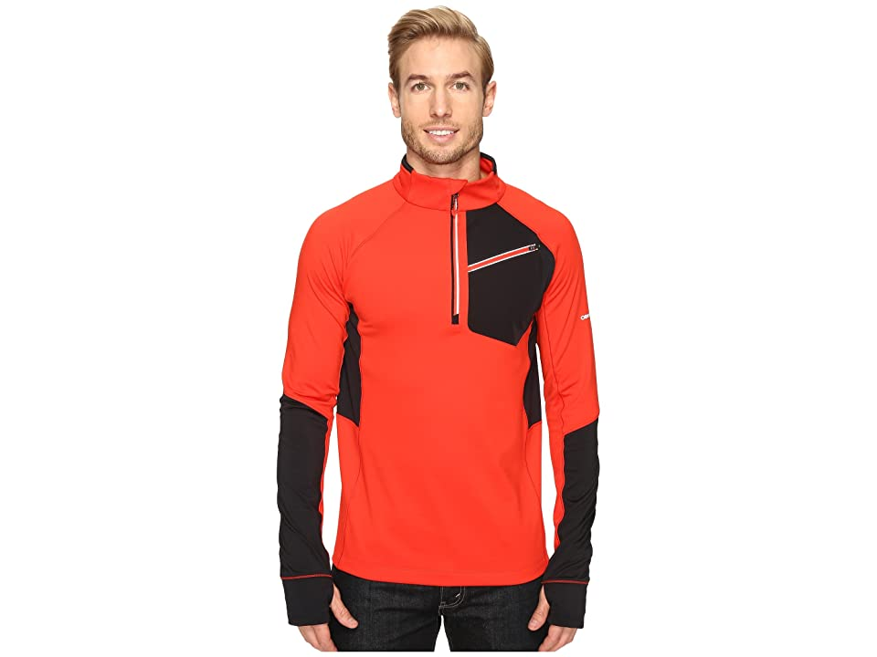 Obermeyer Flight Sport 75Wt Zip Top (Red) Men