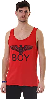 Boy London Uomo Canotta Jersey Stampa BL1013