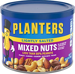 Planters Lightly Salted Mixed Nuts (10.3 oz Jar)