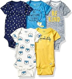 Baby Boys' 5-Pack Variety Onesies Bodysuits
