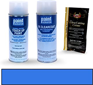 PAINTSCRATCH Hydro Blue Pearl BJ/MBJ for 2016 Jeep Wrangler - Touch Up Paint Spray Can Kit - Original Factory OEM Automotive Paint - Color Match Guaranteed