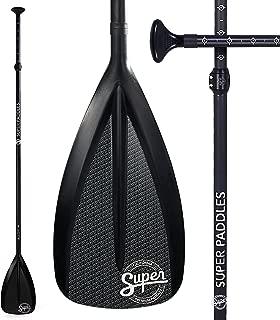 Carbon Fiber SUP Paddle - 3-Piece Adjustable Stand Up Paddleboard Paddles - Carbon Fiber Series