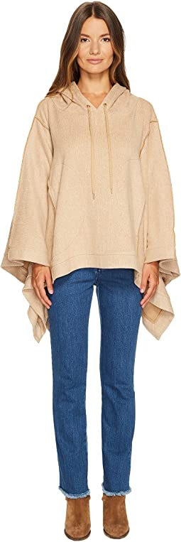 Double Face Jersey Poncho