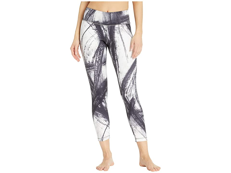 Reebok Lux Bold 7/8 Tights Chalked Movement (Black) Women