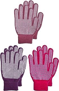 BODY STRENTH Kids Gloves Winter Magic Stretch Gripper Anti Slip Fleece Warm