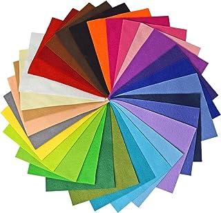 comprar comparacion Vaessen Creative Hojas de Fieltro A5, Multicolor, 15x20 cm, 30 Unidades
