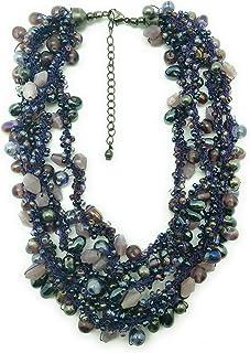DCA Multicolor Glass Women Necklace (4115)