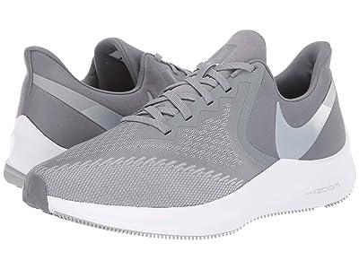 Nike Air Zoom Winflo 6 (Cool Grey/Metallic Platinum/Wolf Grey/White) Men