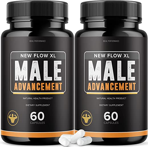 (2 Pack) New Flow XL Male Pills (120 Capsules)