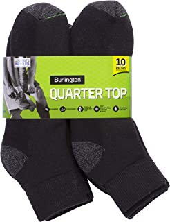 Burlington mens Comfort Power Men's Quarter Sock by Burlington Casual Sock