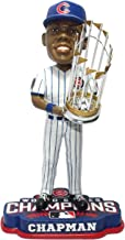 FOCO MLB Chicago Cubs Aroldis Chapman Unisex Chapman A. #54 2016 World Series Champions 8
