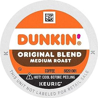 Dunkin' Original Blend Medium Roast Coffee, 60 Keurig K-Cup Pods
