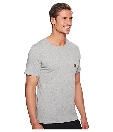 Heritage Nike Heather Court tenis Pocket gris de Dark Camiseta 1aIqwFp7