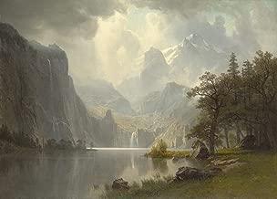 Albert Bierstadt in The Mountains Wadsworth Atheneum Museum of Art 30