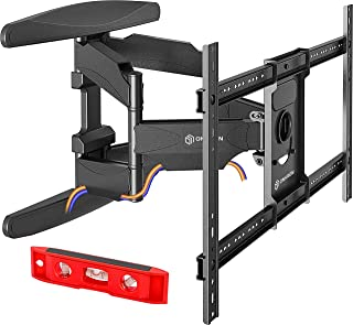 ONKRON TV Wall Mount Articulating Heavy Duty Bracket 42 to 70 Inch LCD LED Flat Screen TVs Full Motion VESA up to 600 x 400 mm Black (M6L)