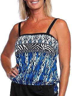 Women's Bandeau Tankini Swimsuit Top