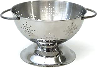 RSVP International COL 5 Colander, One Size, Stainless Steel