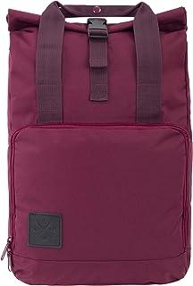 M13 RollTop Daypack – Mochila enrollable impermeable (15 L), mochila de mensajero con compartimento interior, material impermeable, correas ajustables (Manufaktur13), Granate (Rojo) - ROLLDP-PARENT