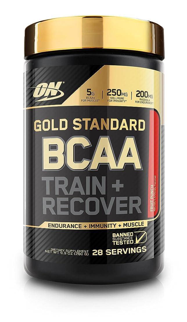 ライド大工甲虫Optimum Nutrition ゴールドスタンダード BCAA フルーツパンチ 28回分