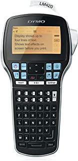 DYMO Label Maker with Adapter   LabelManager 420P High-Performance Label Maker,..