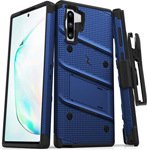 ZIZO Bolt Series for Samsung Galaxy Note 10 Case | Heavy-Duty Military-Grade Drop Protection w/Kickstand Included Bel...