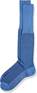 Oxford Stripe Calcetines altos para Hombre