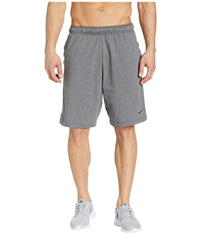 Nike Training Short (Charcoal Heather/Black) Men
