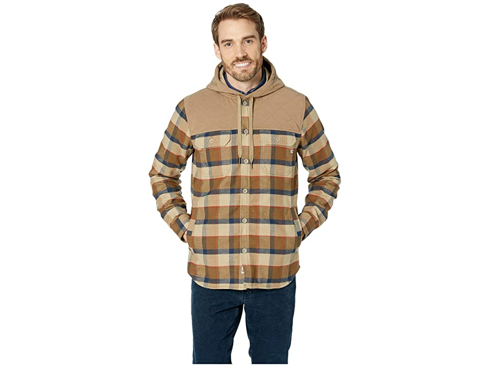 Marmot Silos Heavyweight Flannel Long Sleeve (Desert Khaki/Dark Khaki) Men