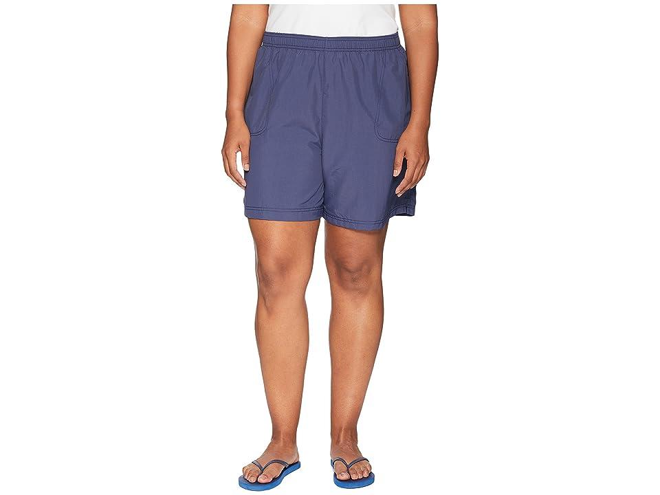 Columbia Plus Size Sandy Rivertm Short (Nocturnal) Women