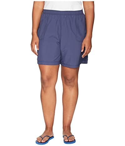 Columbia Plus Size Sandy Rivertm Short (Nocturnal) Women