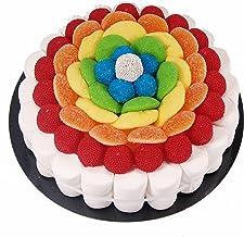 Tarta de golosinas -Rainbow 22 cm