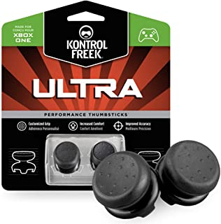 KontrolFreek Ultra for Xbox One and Xbox Series X Controller | Performance Thumbsticks | 2 High-Rise Concave | Black