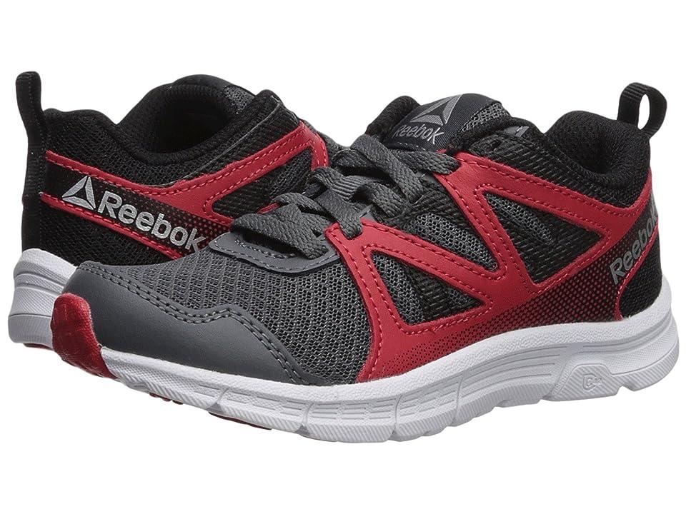 Reebok Kids Run Supreme 2.0 (Little Kid/Big Kid) (Alloy/Primal Red/Black) Boys Shoes