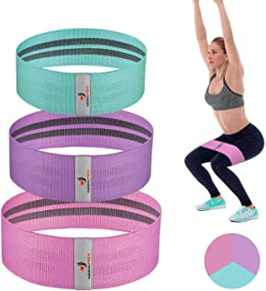 NEEKFOX Resistance Bands, Fabric Workout Bands, Exercise...